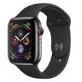 Apple Watch Series4 44mm GPS+Cellularモデル MTX22J/A A2008【スペースブラックステンレススチールケース/ブラックスポーツバンド】