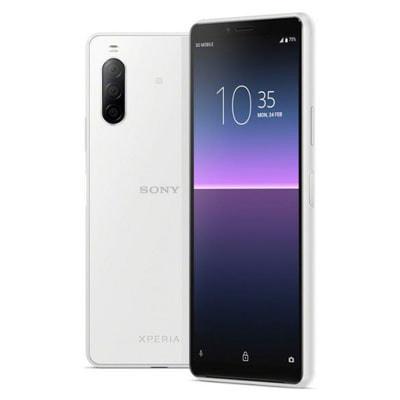 イオシス Sony Xperia10 Ⅱ Dual-SIM XQ-AU52 White【RAM4GB ROM128GB/海外版SIMフリー】【ACアダプタ欠品】