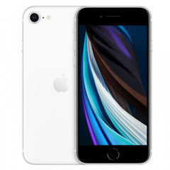 Apple 【SIMロック解除済】【第2世代】au iPhoneSE 64GB ホワイト MX9T2J/A A2296