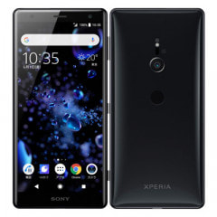 【SIMロック解除済】SoftBank Sony Xperia XZ2 702SO Liquid Black