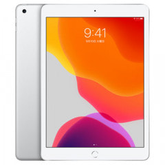 【第7世代】iPad2019 Wi-Fi+Cellular 128GB シルバー MW6F2J/A A2198【国内版SIMフリー】