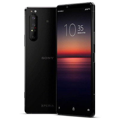 イオシス|Sony Xperia1 Ⅱ 5G Dual-SIM XQ-AT52 Black【RAM8GB ROM256GB/海外版SIMフリー】【ACアダプタ欠品】