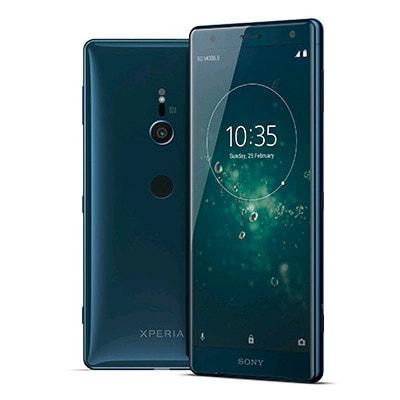 イオシス 【SIMロック解除済】【ネットワーク利用制限▲】au Sony Xperia XZ2 SOV37 Deep Green