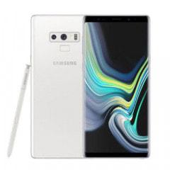 Samsung Galaxy note9 Dual-SIM SM-N9600【Alpine White 6GB 128GB 香港版 SIMフリー】