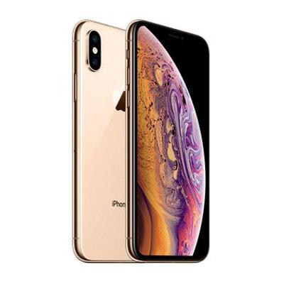 イオシス 【SIMロック解除済】au iPhoneXS A2098 (NTAY2J/A) 64GB  ゴールド