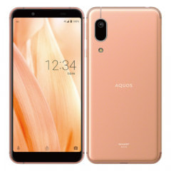 【SIMロック解除済】au AQUOS sense3 basic SHV48 Light Copper