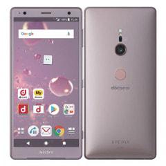 【SIMロック解除済】【ネットワーク利用制限▲】docomo Sony Xperia XZ2 SO-03K Ash Pink