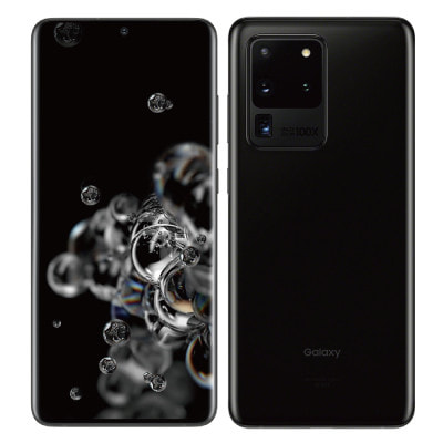 イオシス 【SIMロック解除済】au Galaxy S20 Ultra 5G SCG03 Cosmic Black