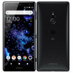 【SIMロック解除済】【ネットワーク利用制限▲】au Sony Xperia XZ2 SOV37 Liquid Black