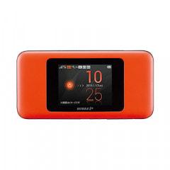 【au版】Speed Wi-Fi NEXT W06 HWD37MDA オレンジ×ブラック