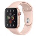 Apple Watch Series5 44mm GPS+Cellularモデル MWWD2J/A A2157【ゴールドアルミニウムケース/ピンクサンドスポーツバンド】