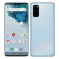 【SIMロック解除済】【ネットワーク利用制限▲】docomo Galaxy S20 5G SC-51A Cloud Blue