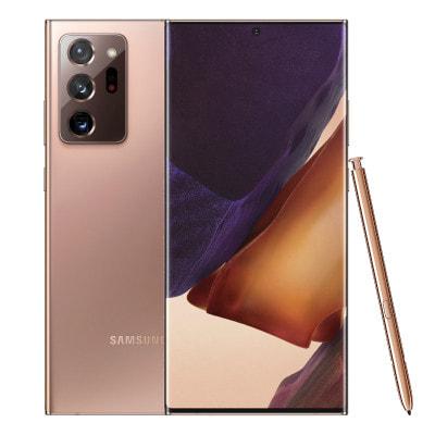 イオシス|Samsung Galaxy Note20 Ultra 5G Dual-SIM SM-N986B Mystic Bronze【12GB 256GB 海外版SIMフリー】【ACアダプタ欠品】