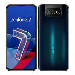 ASUS ZenFone7 ZS670KS-BK128S8 Aurora Black【国内版 SIMフリー】