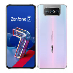 ASUS ZenFone7 ZS670KS-WH128S8 Pastel White【国内版 SIMフリー】