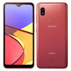 SAMSUNG 【SIMロック解除済】docomo Galaxy A21 SC-42A Red