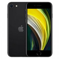 Apple 【SIMロック解除済】【第2世代】au iPhoneSE 64GB ブラック MHGP3J/A A2296