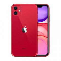 【SIMロック解除済】【ネットワーク利用制限▲】docomo iPhone11 A2221 (MWLV2J/A) 64GB レッド