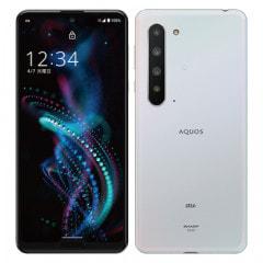 【SIMロック解除済】au AQUOS R5G SHG01 Aurora White
