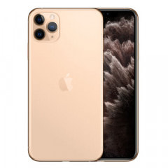 【SIMロック解除済】Softbank iPhone11 Pro Max A2218 (MWHQ2J/A) 512GB ゴールド