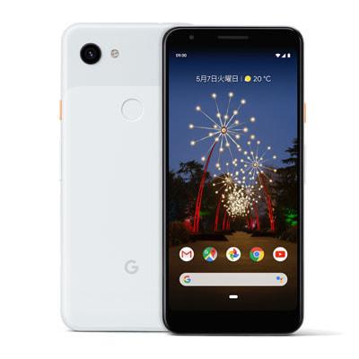 イオシス|【SIMロック解除済】Softbank Google Pixel3a G020H [Clearly White 64GB]