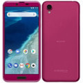 【SIMロック解除済】Y!mobile android one X4 ボルドーピンク
