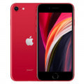 【SIMロック解除済】【第2世代】au iPhoneSE 64GB レッド MHGR3J/A A2296