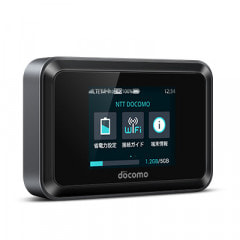 【ネットワーク利用制限▲】Wi-Fi STATION HW-01H Black