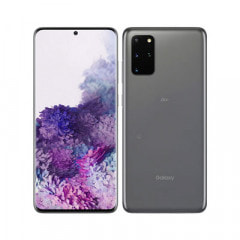 【SIMロック解除済】【ネットワーク利用制限▲】au Galaxy S20+ 5G SCG02 Cosmic Gray
