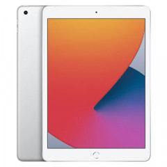 【第8世代】iPad2020 Wi-Fi+Cellular 128GB シルバー MYMM2J/A A2429【国内版SIMフリー】
