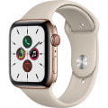 Apple Watch Series5 44mm GPS+Cellularモデル MWWH2J/A A2157【ゴールドステンレススチールケース/ストーンスポーツバンド】