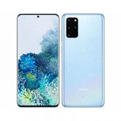 【SIMロック解除済】【ネットワーク利用制限▲】au Galaxy S20+ 5G SCG02 Cloud Blue