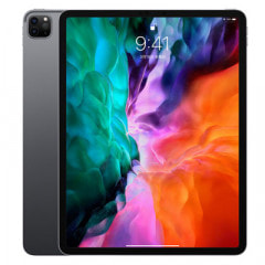 【SIMロック解除済】【第4世代】au iPad Pro 12.9インチ Wi-Fi+Cellular 512GB スペースグレイ MXF72J/A A2069
