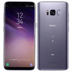 【SIMロック解除済】au Galaxy S8 SCV36 Orchid Gray
