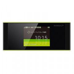 【au版】Speed Wi-Fi NEXT W05 HWD36SKA ブラック×ライム