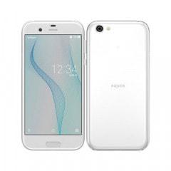 【SIMロック解除済】【ネットワーク利用制限▲】Softbank AQUOS R 605SH Zirconia White