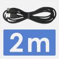 Type-Cケーブル 2m ブラック QuickCharge3.0対応
