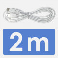 Type-Cケーブル 2m ホワイト QuickCharge3.0対応