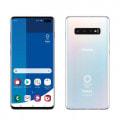 【SIMロック解除済】【ネットワーク利用制限▲】docomo Galaxy S10+ (Plus) (Olympic Games Edition)  SC-05L  プリズムホワイト