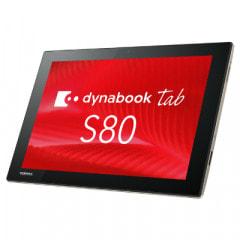 TOSHIBA dynabook Tab S80/B PS80BSGK7L7ADJX【Atom(1.44GHz)/4GB/64GB eMMC/Win10Enterprise】