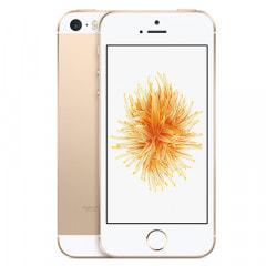 【SIMロック解除済】【ネットワーク利用制限▲】au iPhoneSE 32GB A1723 (MP842J/A) ゴールド画像