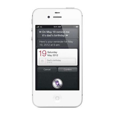 イオシス|au iPhone4S 32GB A1387 (MD246J/A) ホワイト