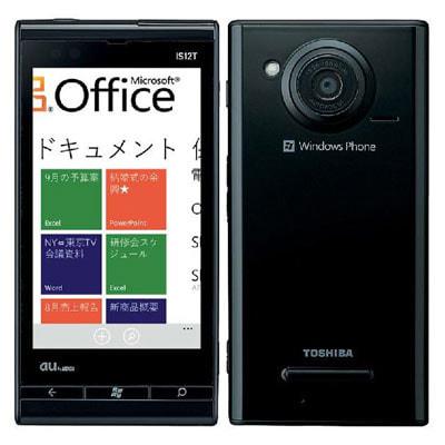 イオシス Windows Phone IS12T BLACK