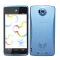 docomo with series Disney Mobile on docomo N-03E BLUE