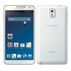 docomo GALAXY Note3 SC-01F Classic White