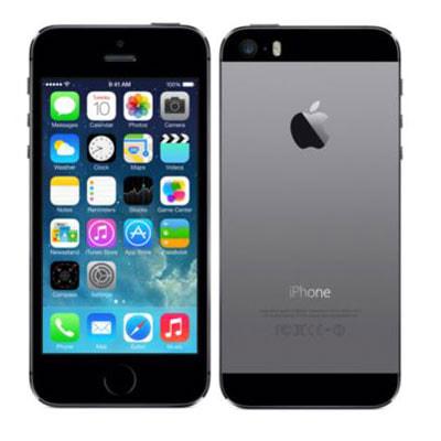 イオシス SoftBank iPhone5s 16GB ME332J/A スペースグレイ