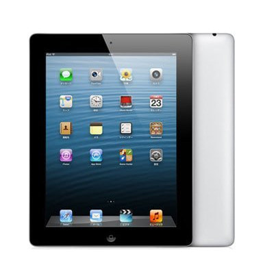 イオシス|【第4世代】au iPad4 Wi-Fi+Cellular 16GB ブラック MD522J/A A1460