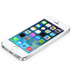 【ネットワーク利用制限▲】SoftBank iPhone5s 32GB ME336J/A シルバー画像