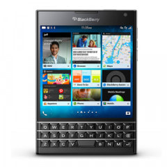 イオシス|BlackBerry Passport SQW100-1 (RGY181LW) Piano Black【海外版 SIMフリー】
