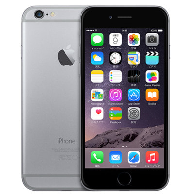 イオシス|docomo iPhone6 128GB A1586 (MG4A2J/A) スペースグレイ